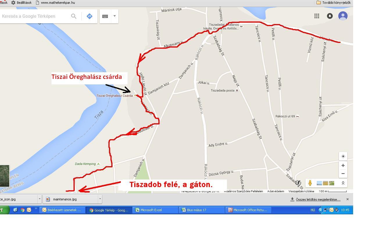 tiszadob térkép Könnyed, túraajánlat a Tisza mentén! (35 km.) Néha azt gondoljuk  tiszadob térkép